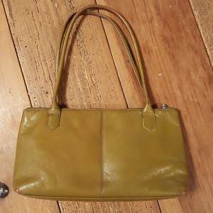 Hobo Hunter Green Leather Purse